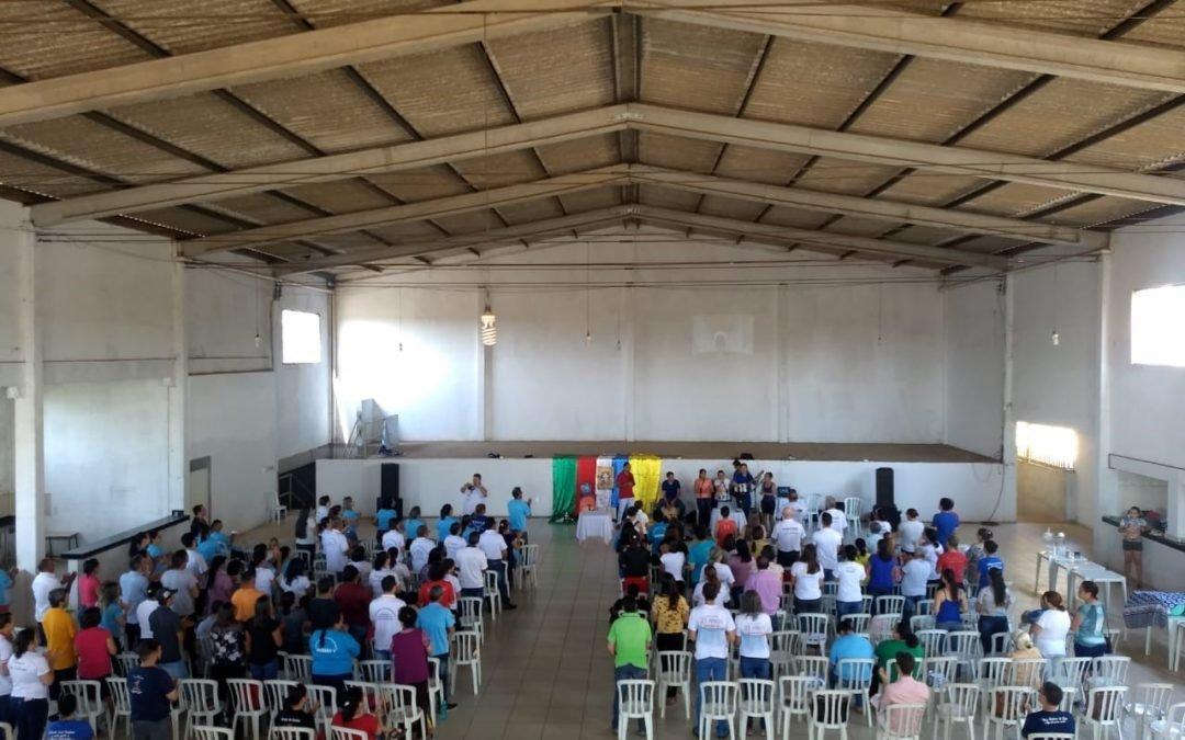 Encontro de formação para missionários em Cezarina