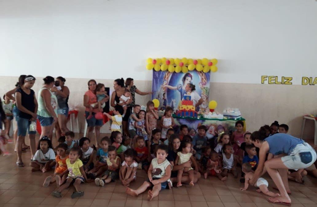 Celebração da vida e festa das crianças na paróquia Santa Cruz, em São Luís
