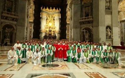 Diocese participa do curso para reitores de Seminários em Roma
