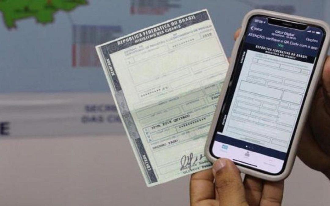 Detran-GO libera a impressão de documentos veiculares pela internet