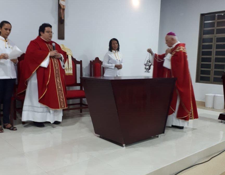 Tríduo e inauguração da Capela a São Sebastião, em Americano do Brasil