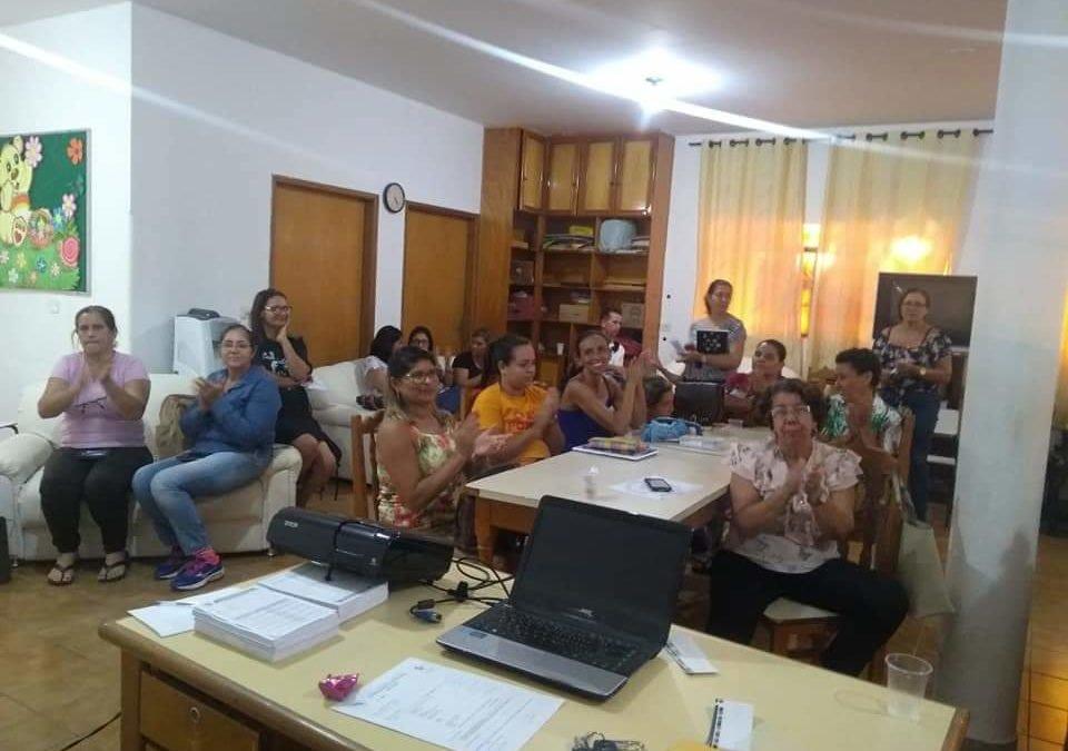 Pastoral da Criança realiza encontro de formação em Anicuns