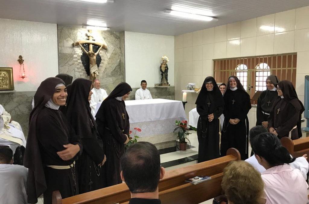 Monjas Filhas da Pobreza do Santíssimo Sacramento chegam em São Luís