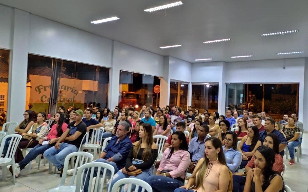 CDL de Caiapônia realiza Palestra, como vender mais com as redes sociais