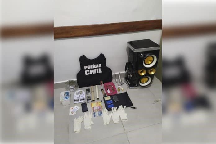 Policia Civil de São Luís prende homem suspeito por tráfico de drogas
