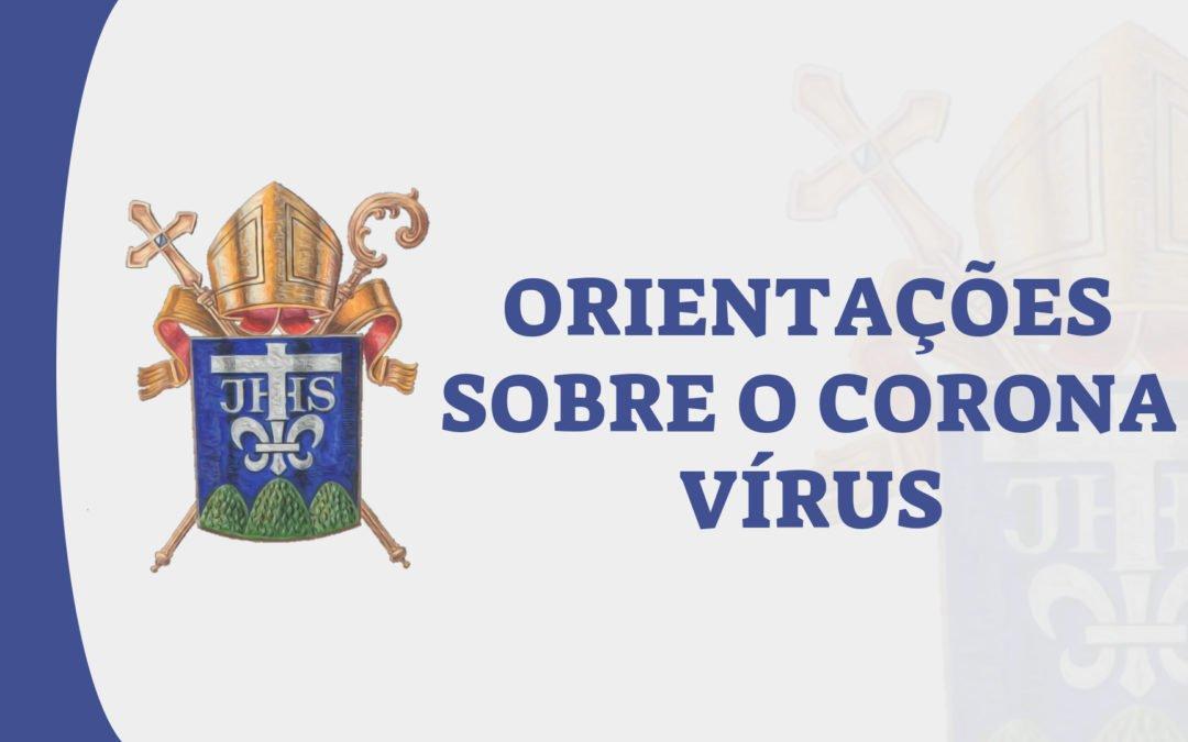 Orientações sobre o corona vírus