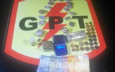 Tráfico de Drogas e desacato em Doverlândia