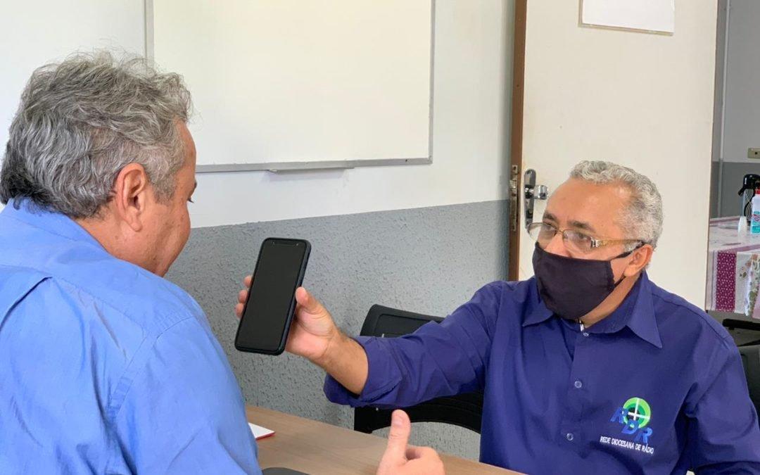 Barreira sanitária em Iporá, na luta contra o coronavírus