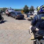 PRF apreende carro com mais de 170 multas no prontuário