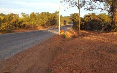 Tráfego em desvio na GO-060 em Iporá/Israelândia liberado, pista ainda em reconstrução