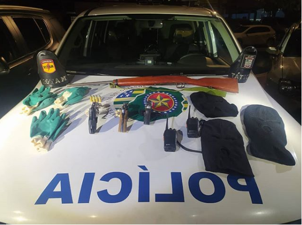 Bandidos que planejavam crimes contra bancos na região de Iporá, foram mortos
