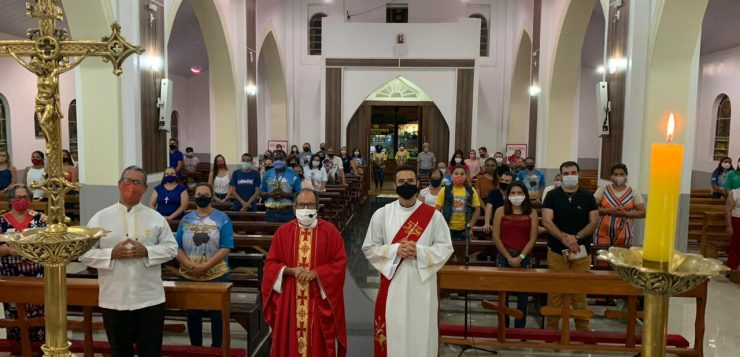 Paróquia de Caiapônia celebra festa da padroeira