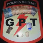 GPT efetua prisão de elemento por tráfico de drogas em Doverlândia
