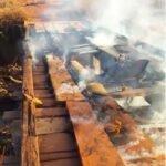 Incêndio em ponte entre povoado de boa vista e assentamento Padre IIgo afeta 120 famílias