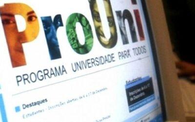 Prouni: MEC publica edital para preencher 90 mil vagas remanescentes