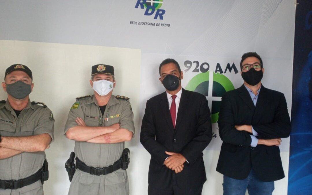 Autoridades de São Luís de Montes Belos e região orientam candidatos e eleitores no Jornal RDR