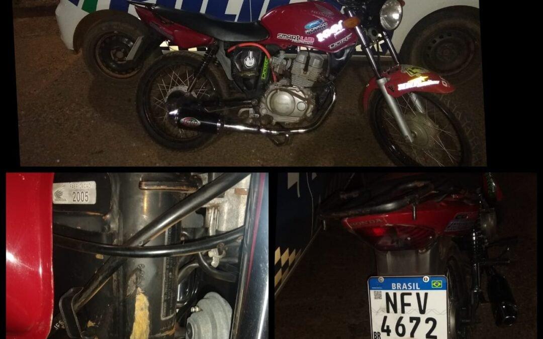 Iporá – Motociclista fazia manobra arriscada em moto adulterada