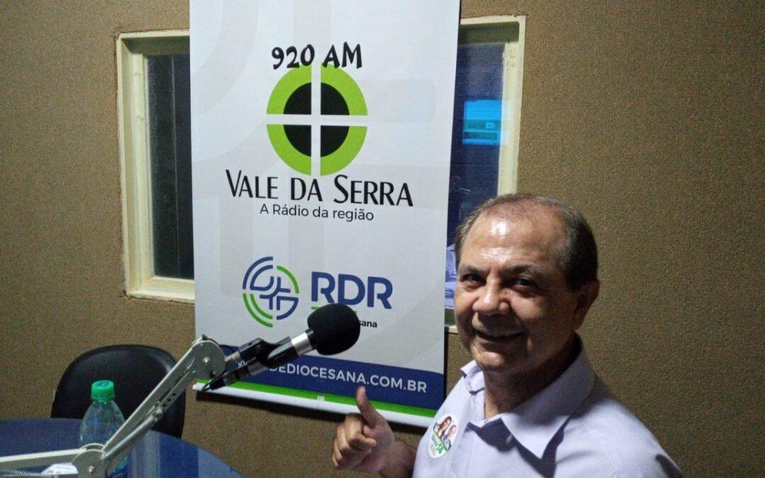 Concluídas as entrevistas com os candidatos a vice – prefeito de São Luís de Montes Belos