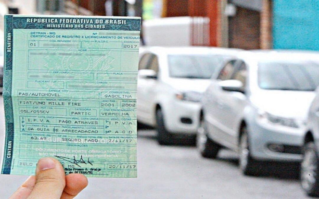 Prazo para transferir veículos com recibos vencidos termina dia 31
