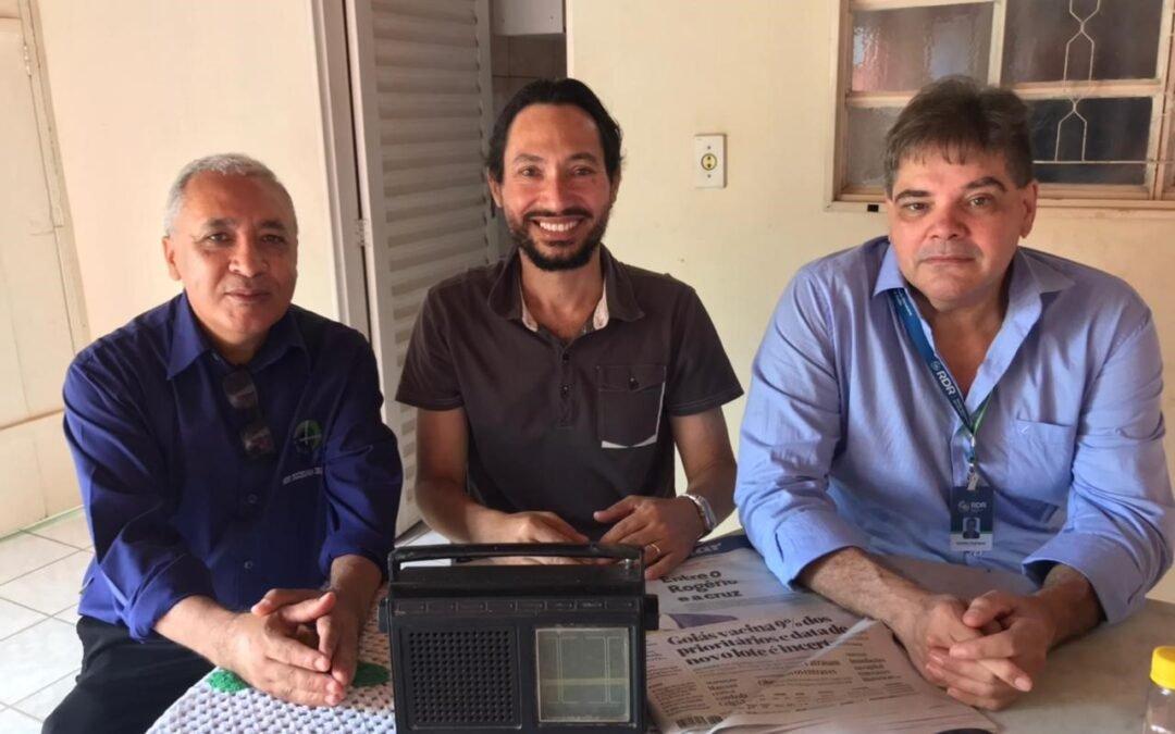 Em reunião em São Luís de Montes Belos, Jornalistas da RDR debatem a região