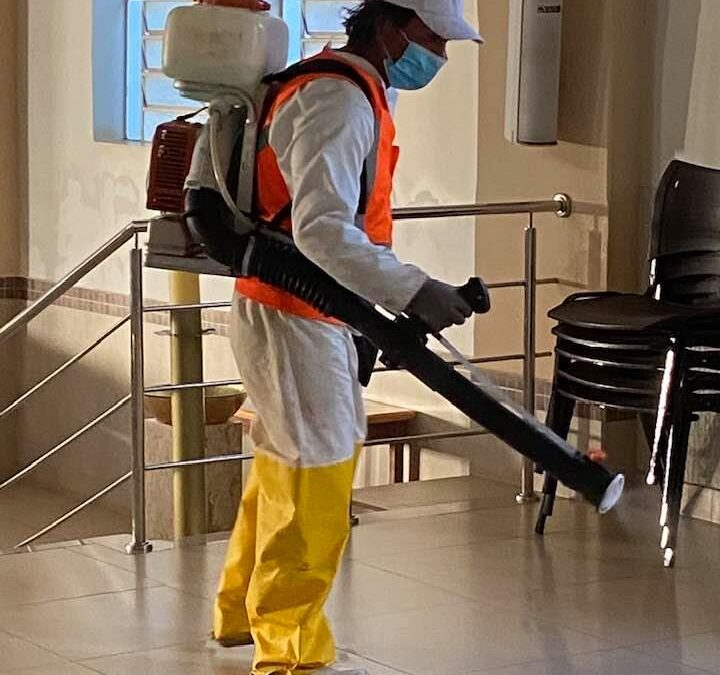 Sanitização em Iporá, uma tentativa de combate a Pandemia