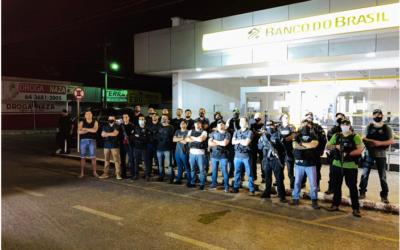 Bandidos explodem agência do Banco do Brasil de Firminópolis e são mortos em seguida